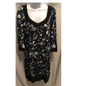 Size XL Tiana B. Dress Slinky Stretchy